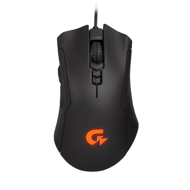 Gigabyte xm300 gaming mouse 6400 dpi rgb luces láser de trabajo