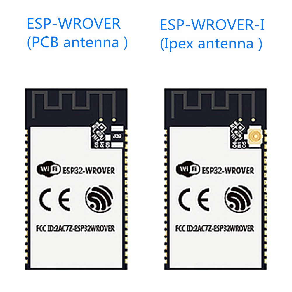 ESP32-WROVER ESP32-WROVER-I WiFi-BT-BLE MCU ESP32 módulo 4 MB flash SPI 8  MB PSRAM antena PCB/antena IPEX espressif Original