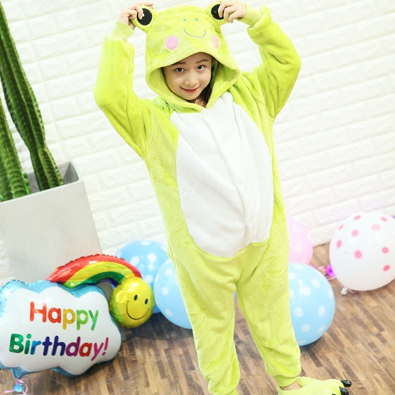 Hello Kitty Onesie Childrens Cosplay Costume Kids Unicorn Pajamas for Helloween Christmas Party Hoodies Pijama Infantil Menino