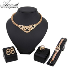 gold Vintage jewelry sets