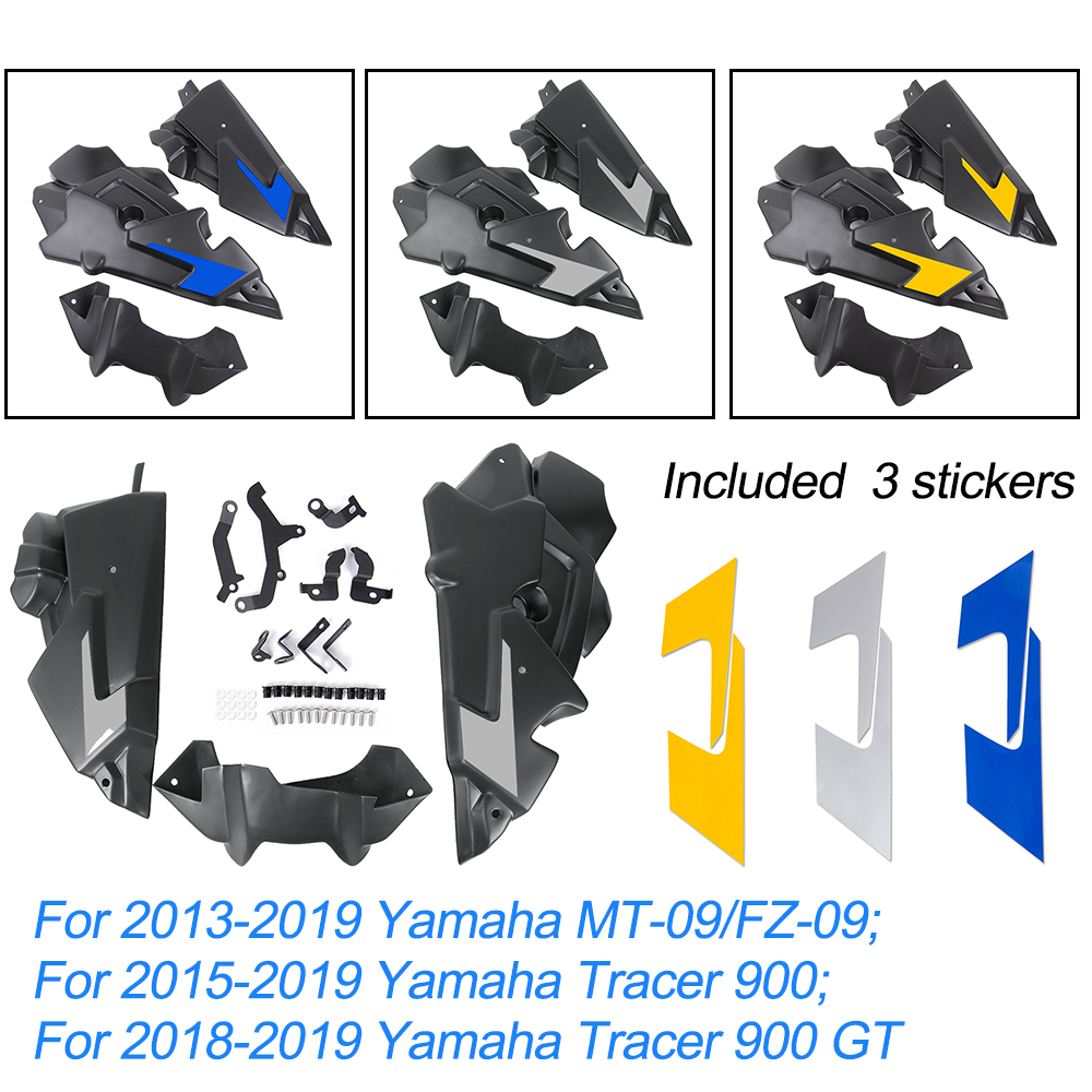 MT 09 900 Tracer Lower Bellypan Engine Spoil Fairing Guards Cover For 2013-2019 Yamaha MT09 Tracer 900 Tracer 900 GT 2017 2018
