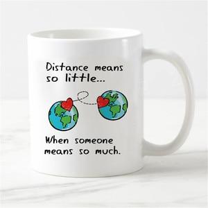 Image 2 - Chic Long Distance Relationship Magic Mug Love Valentine Anniversary Gifts Heat Color Change Cups Creative Girlfriend Boyfriend