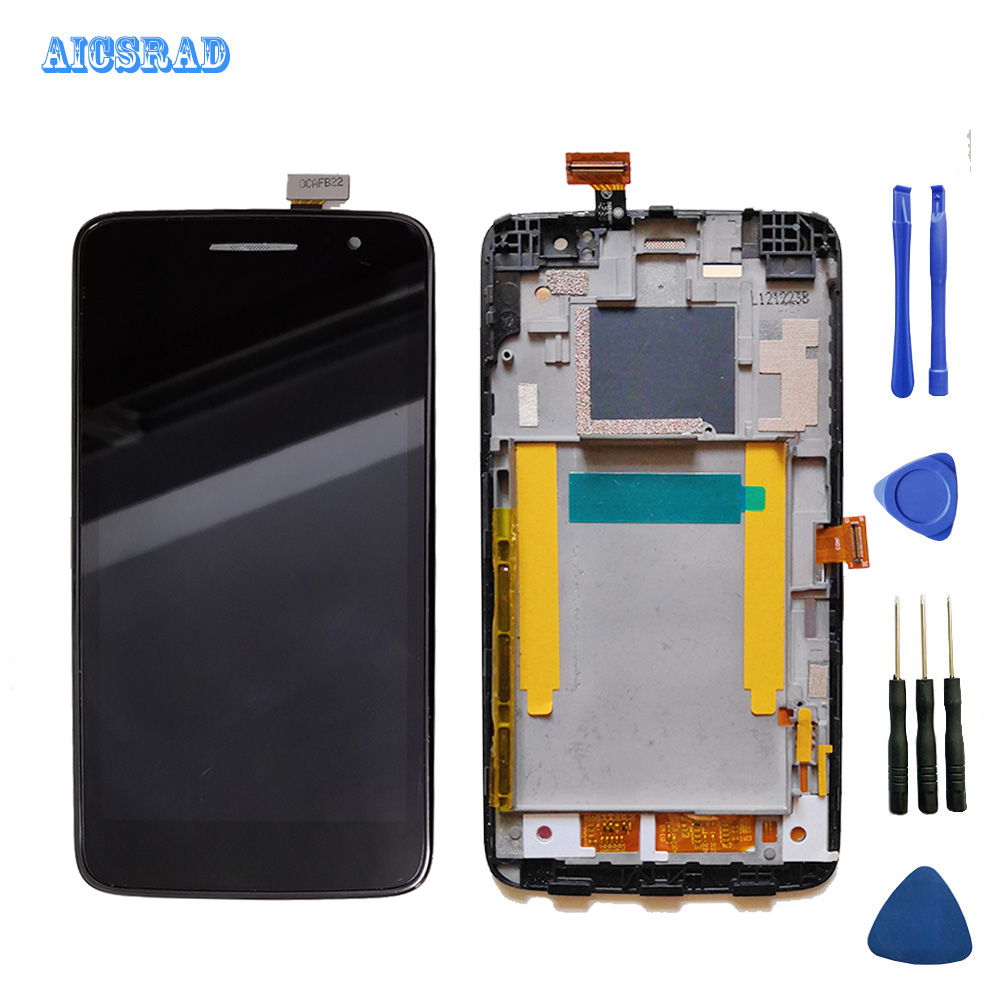AICSRAD ouetouch For Alcatel One Touch Scribe HD X OT8008 8008 8008D LCD Display Touch Screen