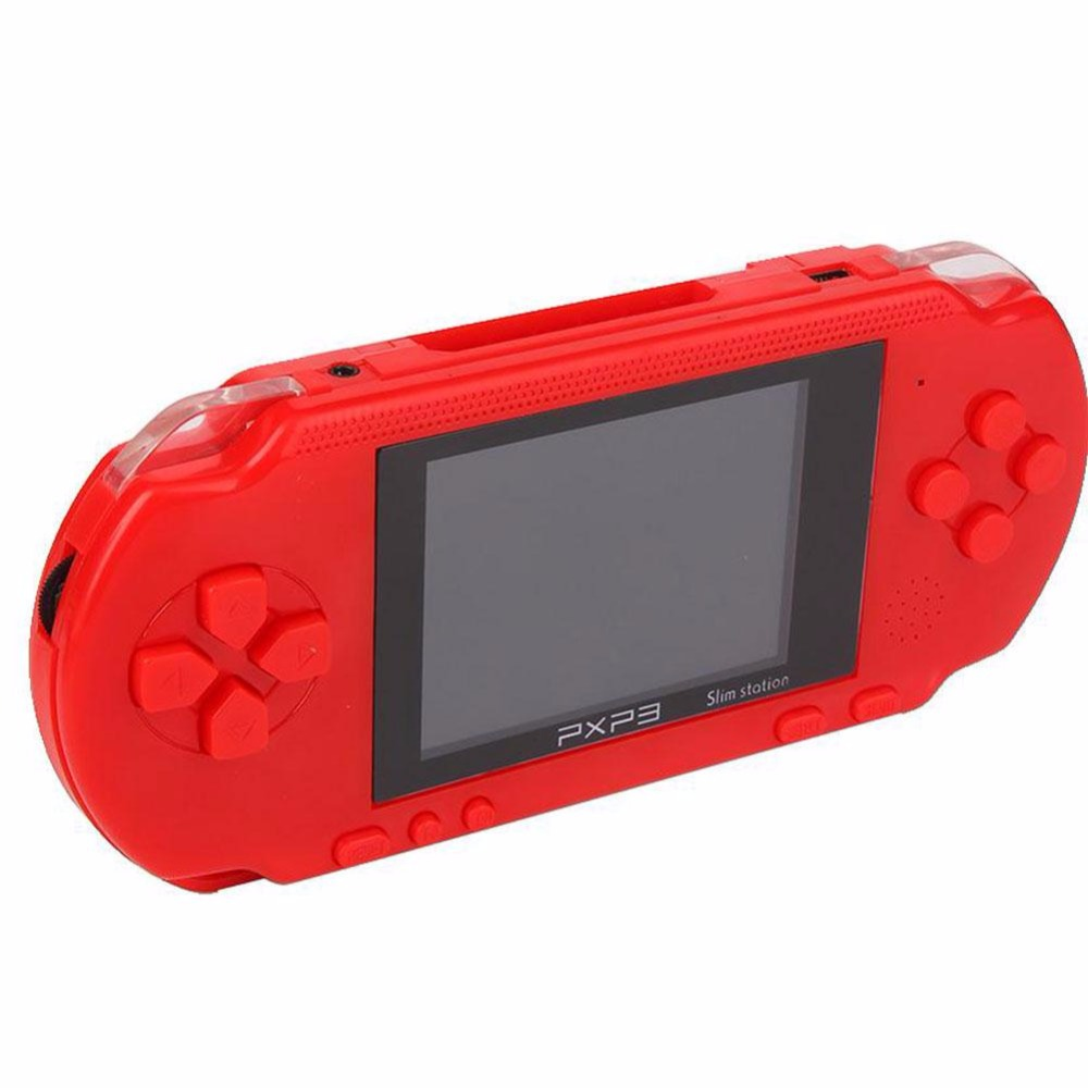 PXP 3 Portable Handheld Game Console 16 Bit 150 Games Vedio Game Player for Kids Christmas Gift