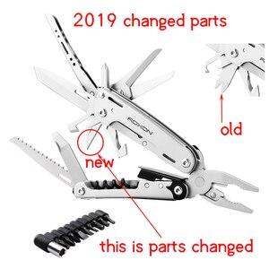Image 5 - New Multitools Folding Plier EDC Scissors Camping Multi Tools Pliers Screwdriver Bits Multifunctional EDC Tool Knife Survival