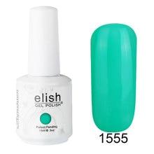 Frenshion 15ml Green Vernis Semi Permanent UV Gel Nail Polish Gel Polish Art Color Gel Polish