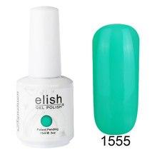 Frenshion 15ml Green Vernis Semi Permanent UV Gel Nail Polish Gel Polish Art Color Gel Polish Led Lamp Manicure Bling UV Gel Hot