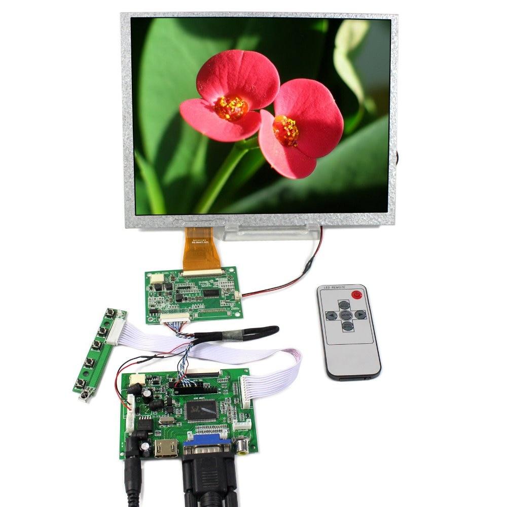 HDMI VGA 2AV LCD Controller Board+10.4 A104SN03 V1 800X600 LCD Screen 10 4inch a104sn03 800x600 4 3 tft lcd display vga av driver controller board card