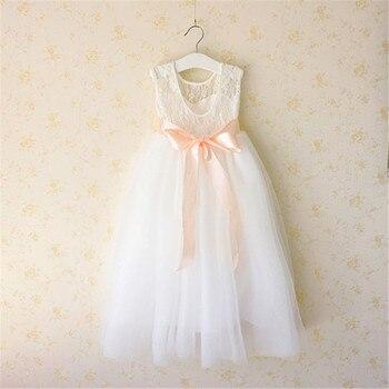 9c6875a3a64 2018 летняя одежда для девочек милое платье принцессы