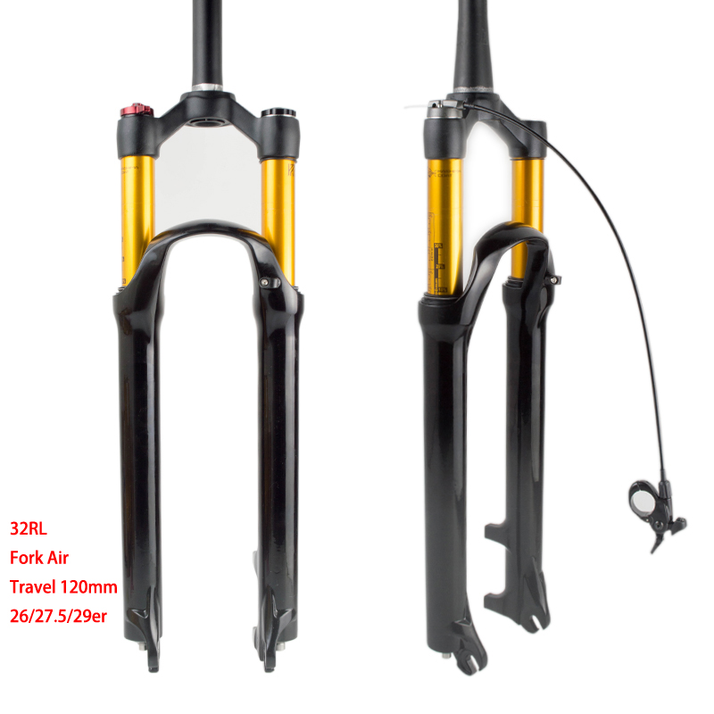 RYCERZ MTB 26 bicycle fork magnesium alloy mountain bike forks 27.5/29 air bike fork bicycle accessories