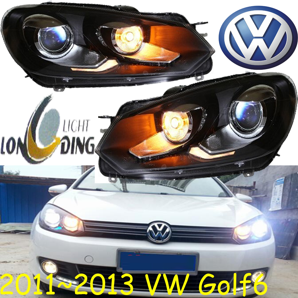 car-styling! Golf6 headlight,2011~2013,Free ship!chrome,Golf6 fog light,chrome,LED,sharan,polo,Golf,Golf 6,Golf7 2011 2013 vw golf6 daytime light free ship led vw golf6 fog light 2ps set vw golf 6