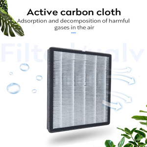 Image 4 - Filterhualv PM2.5 HEPA Activated Carbon Air Filter Replacement for Philips Air Purifier AC4076 4016 4072 4074 P077 P017 ACP087