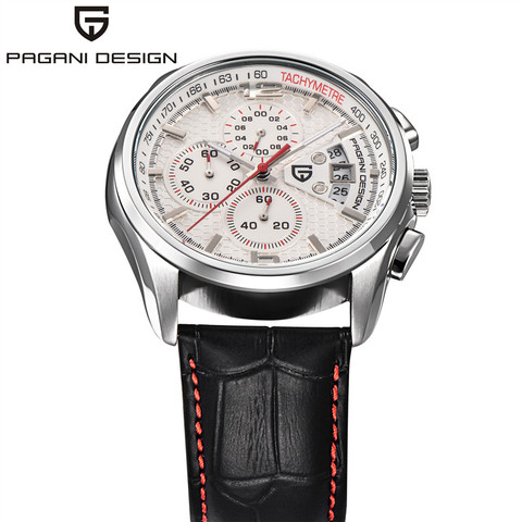 Men Quartz Watches PAGANI DESIGN Luxury Brands Fashion Timed Movement Military Watches Leather Quartz Watches relogio masculino Karachi