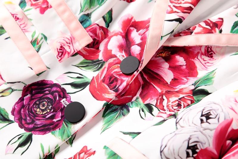 Casual Et Longues Imprimé Designer Ensemble Pantalon À Piste Manches Femmes Costume 2018 Pièces De Deux Npd0873n Manteau Costumes n6qwOU