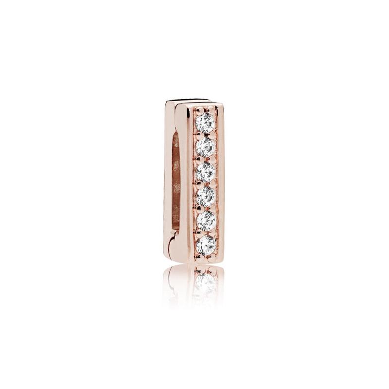 Atemporal Rose oro cristal reflexiones perlas para la fabricación de la joyería para las mujeres y los hombres con reborde bricolaje reflexiones pulseras joyería de plata