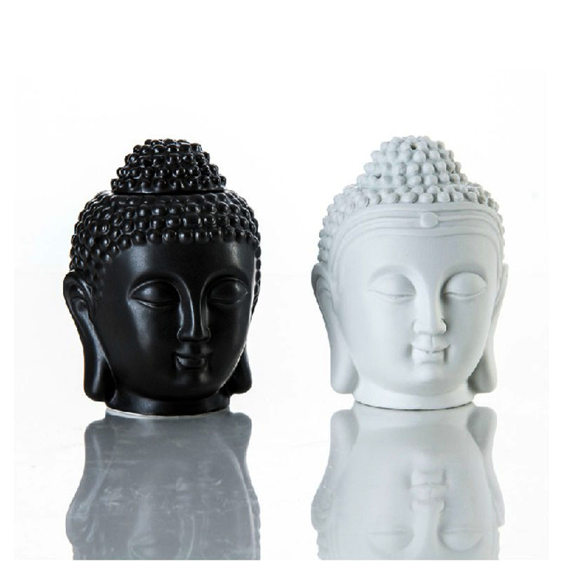 Buddha Head Aroma Essential Oil Ceramic Aromatherapy Oil Incense Burner  Diffuser Indian Incense Buddha Tibetan Incense Burner-in Figurines & Miniatures from Home & Garden on Aliexpress.com | Alibaba Group