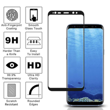 For Samsung Galaxy A8 2018 A530 A530F Screen Protector Film Full Cover Tempered Glass For Samsung Galaxy A8 Plus 2018 A730 A730F protective glass red line for samsung galaxy a8 plus 2018 a730 full screen black