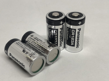 10pcs/lot New Original Panasonic CR123A CR 123A 3V 1400mAh Lithium Battery Camera Non-rechargeable Batteries