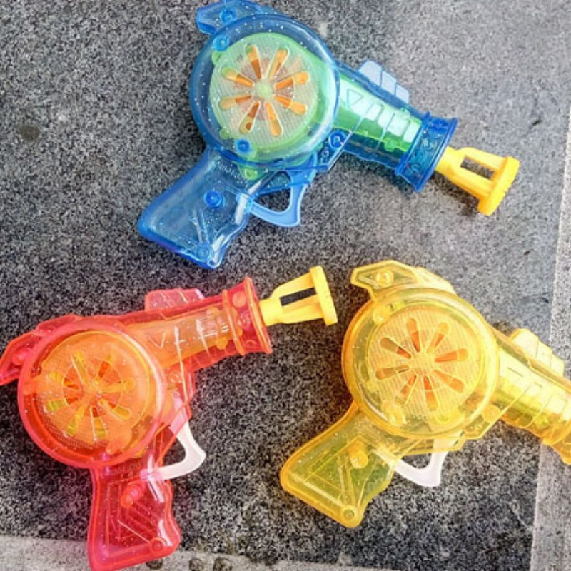led Shining bubble gun Outdoor toys kids soap bubble blower child toy baby toy gift water gun good package