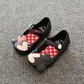 Sandalias de las muchachas de Mickey Minnie SED 2016 Verano de Las Muchachas Linda Zapatos de las muchachas Niños Mitch Jalea Zapatos de Bebé para La Muchacha F191