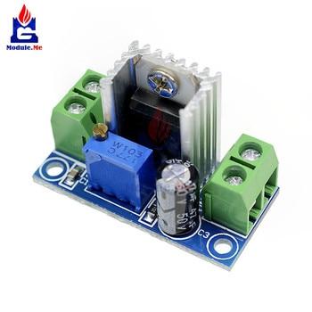DC-DC convertidor lineal Buck Step Down LM317 Placa de ondulación baja fuente de alimentación módulo regulador lineal ajustable