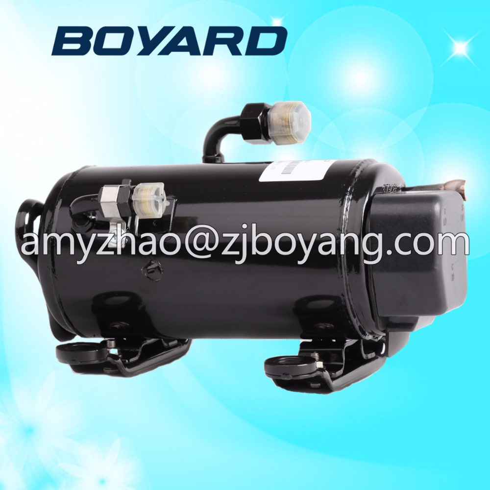 BOYARD R134a DC 48V portable air conditioning compressor for electric vehicle air cooling system made in china boyard 12 24v compressor of portable air conditioner for cars portable freezer portable drink cooler