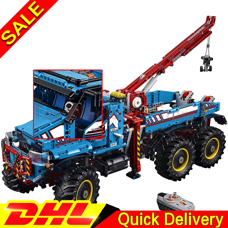 IN Stock Lepin 20056 Technic Kits The Ultimate All Terrain 6X6 Remote Control Truck Set Building Blocks Bricks Toy Clone 42070 inov 8 сумка all terrain kitbag black