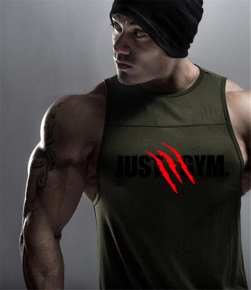New Brand Mens Sleeveless Vest Summer Cotton Patchwork Male   Tank     Tops   Gyms Clothing Bodybuilding Undershirt Fitness   Tank     Tops