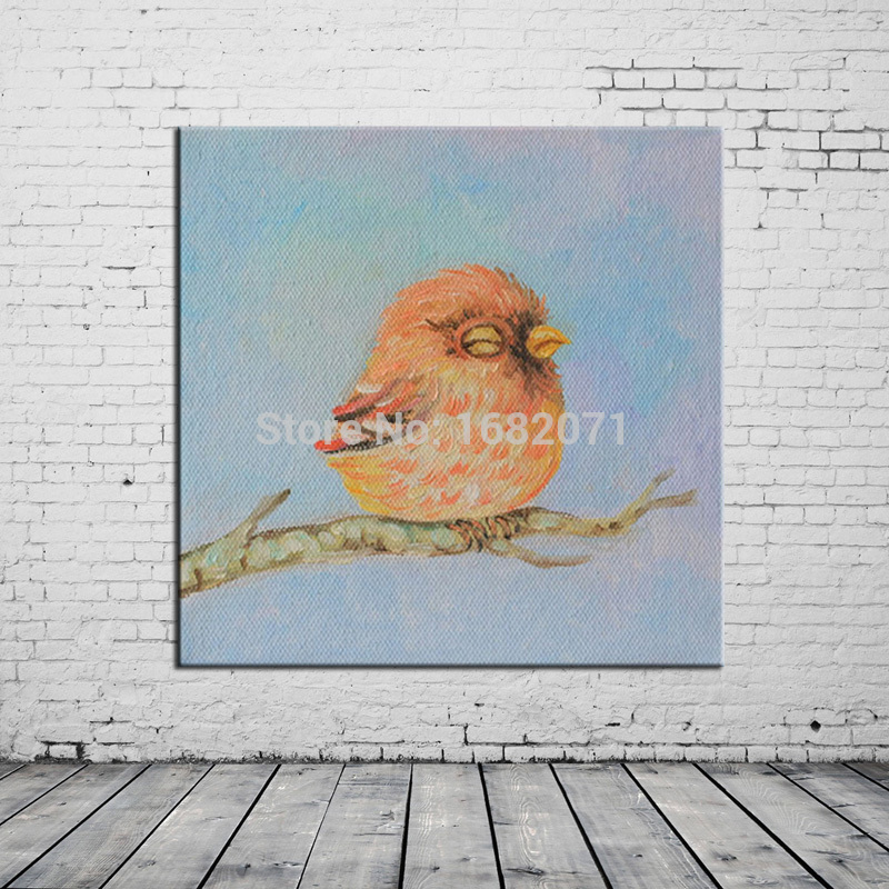 Compare prices on bird oil painting online shopping buy for Oil paint price