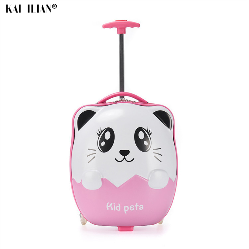 kids Trolley Suitcase Children Travel Suitcase for girls wheeled Luggage suitcase for Boy Child Rolling suitcase for kids