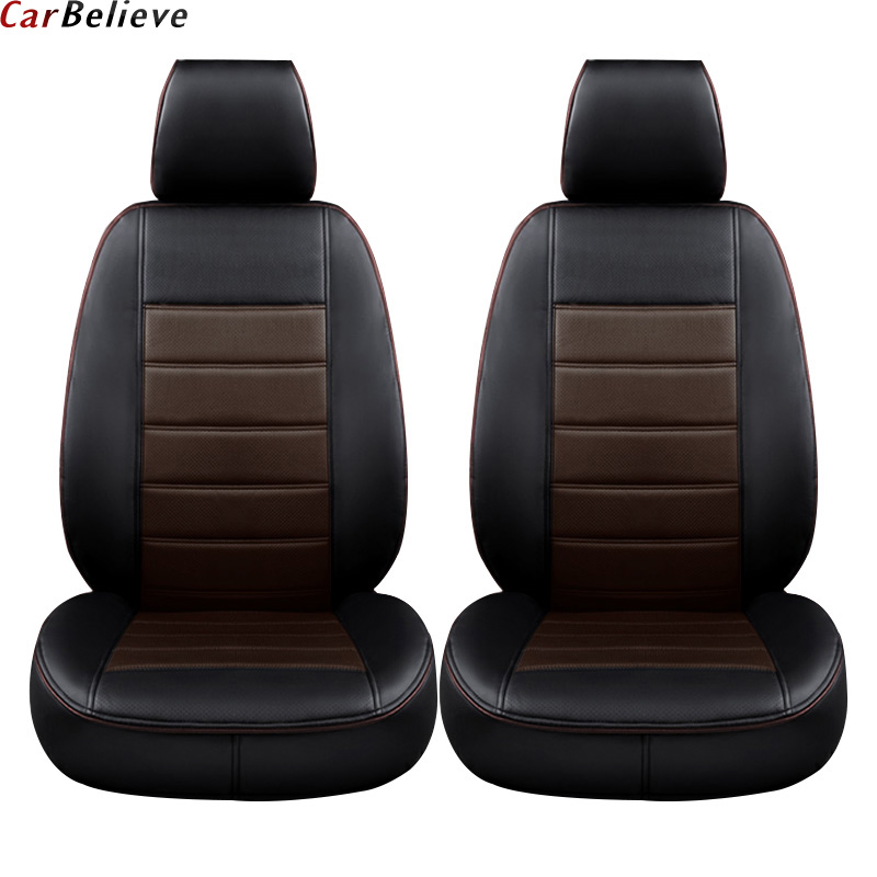Car Believe car leather seat cover For kia sportage 2018 4 cerato k3 carnival rio k2 3 4 optima accessories covers for car