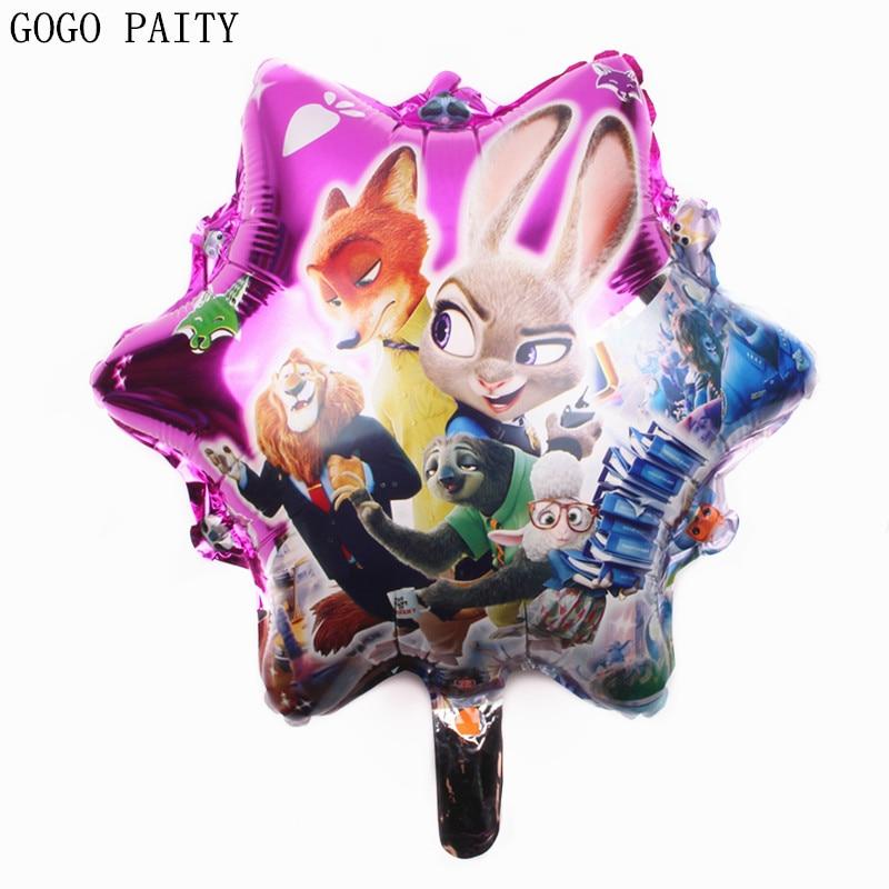 GOGO PAITY free shipping design Cartoon crazy animal City balloons inflatable toys wedding decoration wholesale