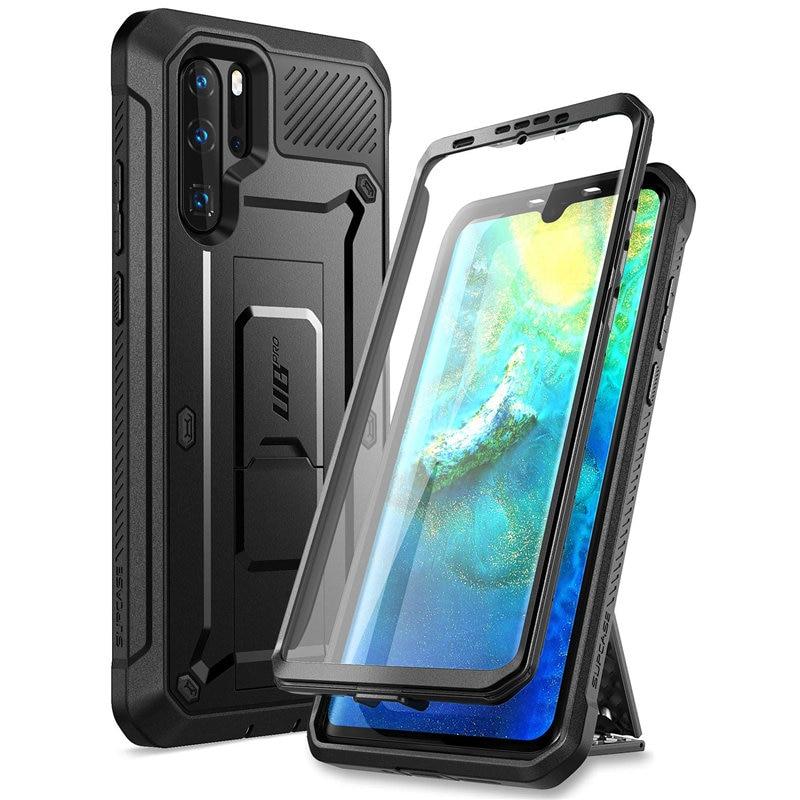 Чехол SUPCASE для Huawei P30 Pro (выпуск 2019 года) твердый полноразмерный прочный Чехол UB Pro со встроенным защитным экраном и подставкой