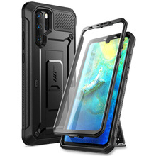 SUPCASE For Huawei P30 Pro Case (2019 Release) UB Pro Heavy Duty Full-Body Rugged Case with Built-in Screen Protector+Kickstand supcase for iphone 11 pro max case 6 5 inch ub pro full body rugged holster cover with built in screen protector