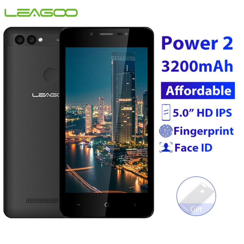 LEAGOO POWER 2 téléphone portable 2 GB RAM 16 GB ROM Android 8.1 5.0