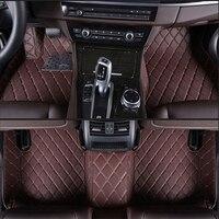 Custom SUV MPV seven seats car floor mats Non slip foot carpets Custom fit car mat for Chevrolet Captiva Journey Enclave CX 9