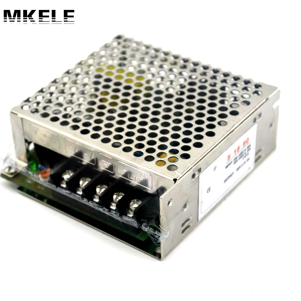 Switching power supply AC-DC 90v 0.2a Meanwell dc power supply 0.2 amp 18W S-18-90 power supplies power supply unit Smps meanwell 12v 350w ul certificated nes series switching power supply 85 264v ac to 12v dc