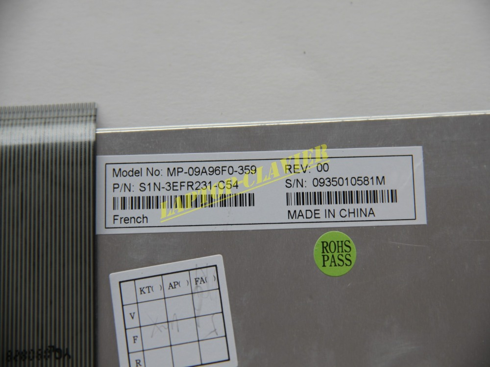 Portuguese Laptop Keyboar for Medion Akoya S5612 MD97930 MD97424