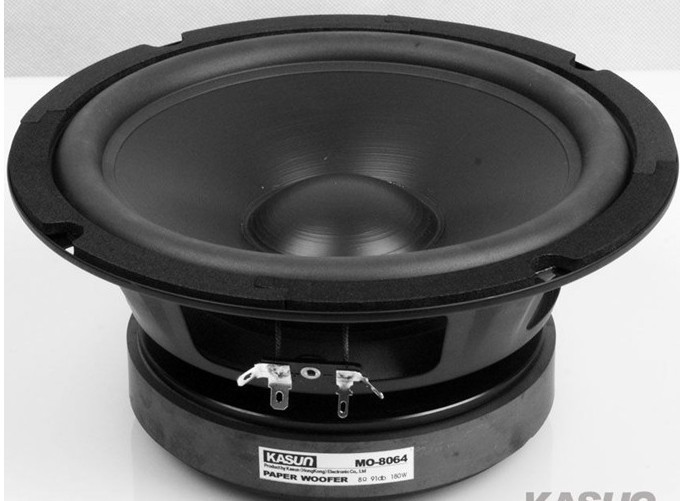 1pcs HI-FI series woofer loudspeaker woofer Speaker MO-8064 180W 8 ohm 8 inch bass speaker for HIFI amplifier 1pcs hi fi series loudspeaker soft dome tweeter speaker acc 1366 3 inch 40w 6 ohm for amplifier tweeter loudspeaker
