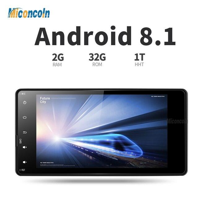 COLD7060 Android 8,1 2G + 32G 8 core coche dvd de video de radio de navegación gps para Mitsubishi outlander lancer asx 2012, 2013, 2014