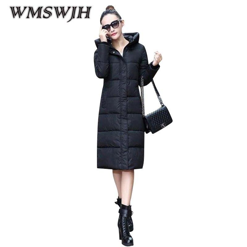 Winter-Baumwollkleidung 2019 neue Frauen Größe einfarbig Verdickung - Damenbekleidung - Foto 6