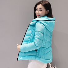 2016 New Long Parka Female Women Winter Coat Crystal Diamond Cotton Jacket Womens Outwear Parkas for