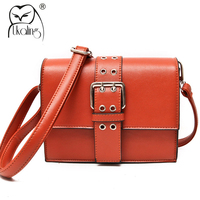 UKQLING Brand F Blet Crossbody Bags for Women Handbag Messenger Bag Ladies Flap Orange Women Bag Purse Casual Bolsas