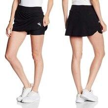 Женская Спортивная юбка для активного отдыха, легкая юбка с карманами, быстросохнущая юбка-карандаш с шортами для бега и тенниса, для тренировок в гольф