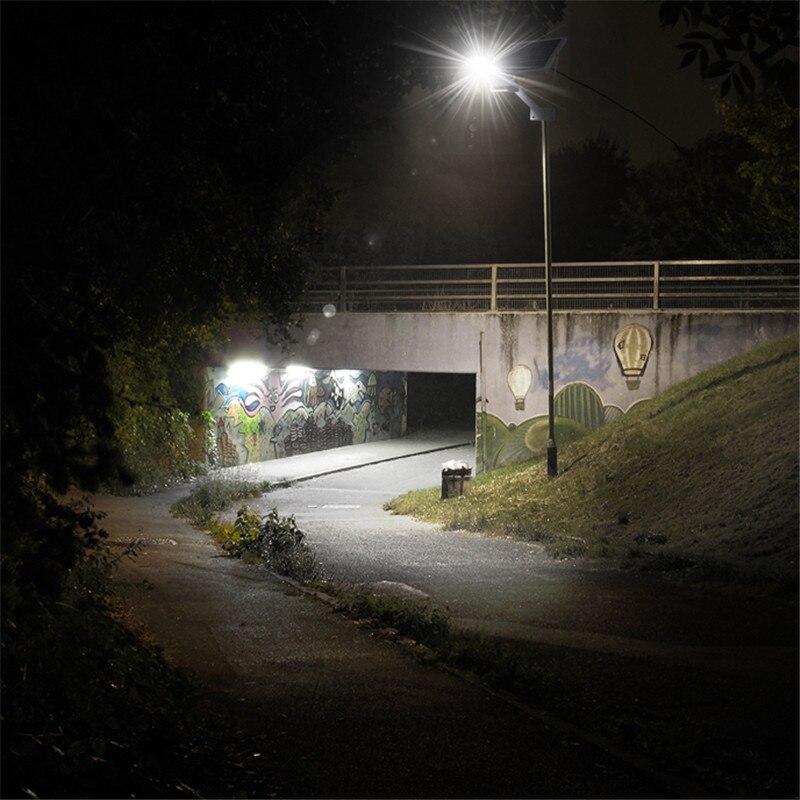 HOOREE Solare Luce di Via Solare Lampade Da Giardino Cortile Esterno Impermeabile IP65 Radar Sensore di Controllo della Luce Solare Ha Condotto La Luce - 4