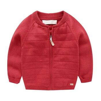 свитер куртка для мальчиков 2018 г новый кардиган на молнии для