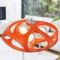 Dia 45/56 CENTÍMETROS Modern Luzes Pingente De Resina Milan Design Criativo Interior Da Lâmpada de Iluminação E14 110/220 V Branco Vermelho WPL139