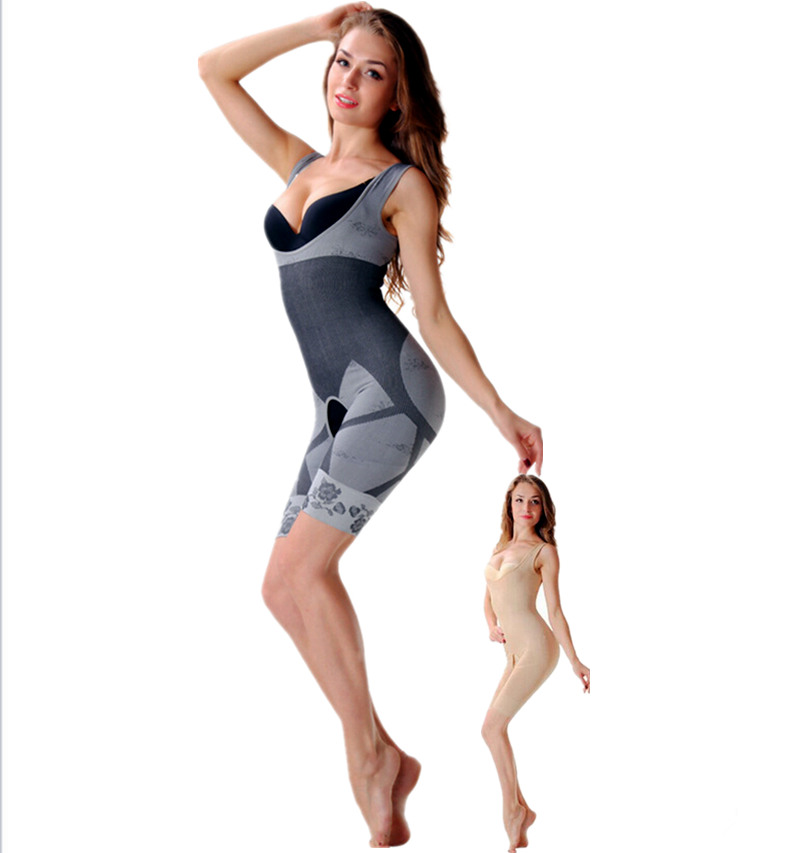 3530beebc4 Hot Sale Fashion Women Slim Boduysuit building Sexy Corset Slimming Suit  Legs Shapewear full Body Shaper Magic Underwear