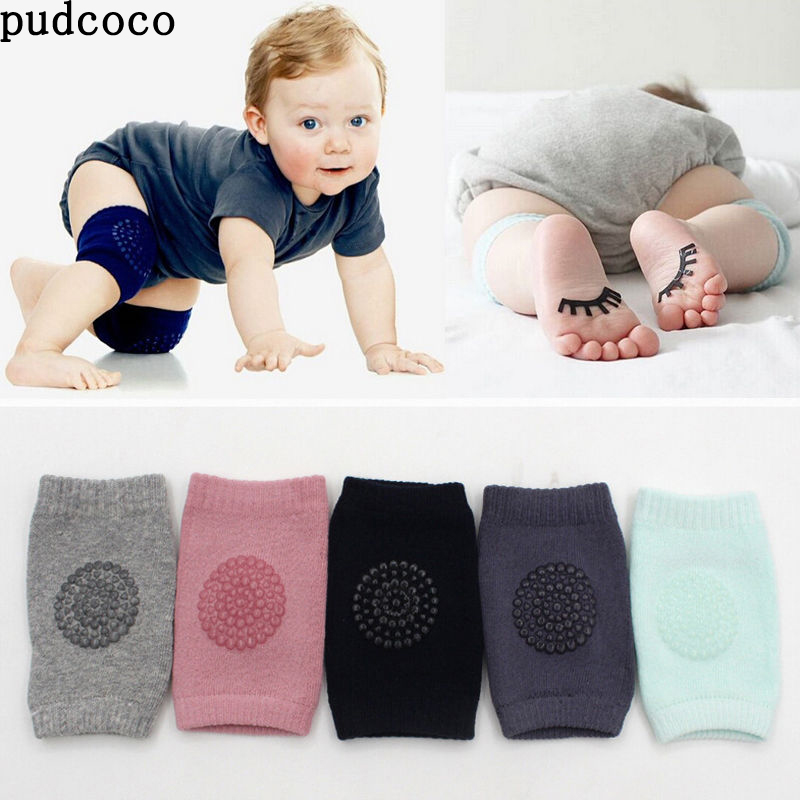 Baby Knee Pads,Crawling Anti-Slip Leg Pad 3 Pairs Baby Toddlers Kneepads Unisex Soft Cotton Breathable Crawling Safety Protector for 0-24 Months