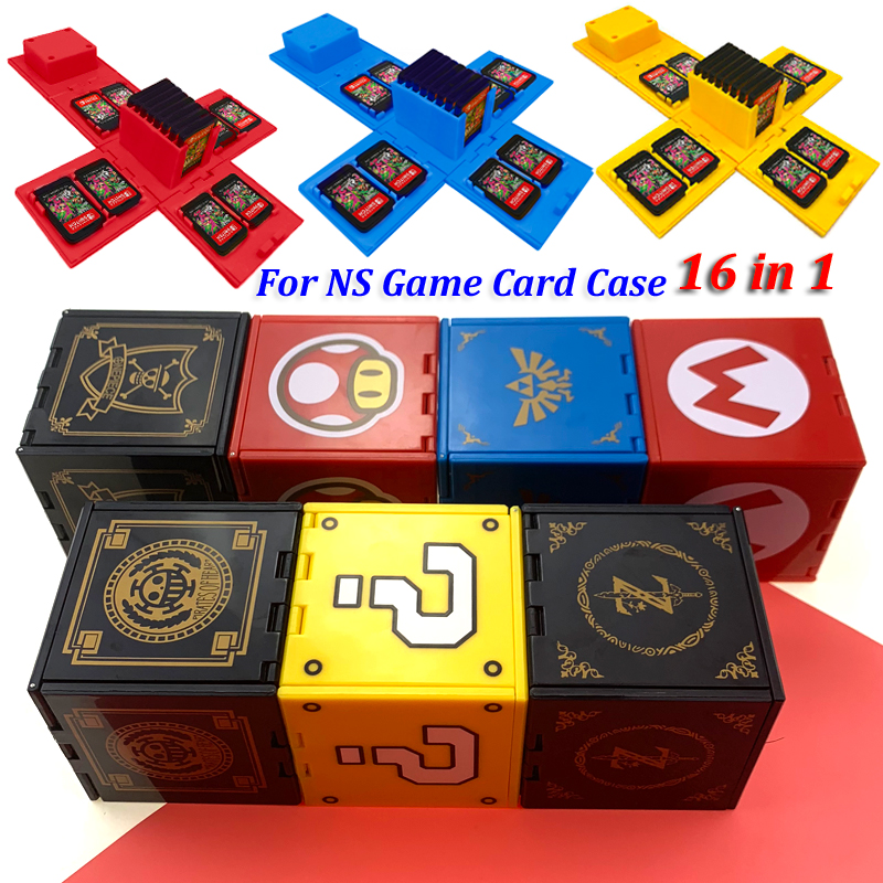 Para Nintendo Switch, caja de tarjetas de juego a prueba de golpes, - Juegos y accesorios